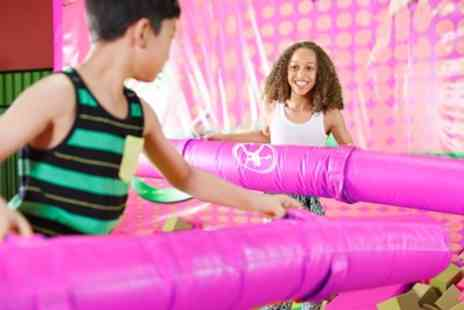 Let Loose Soft Play Centre - Soft Play Entry and Jug of Juice for Two or Four Kids - Save 54%