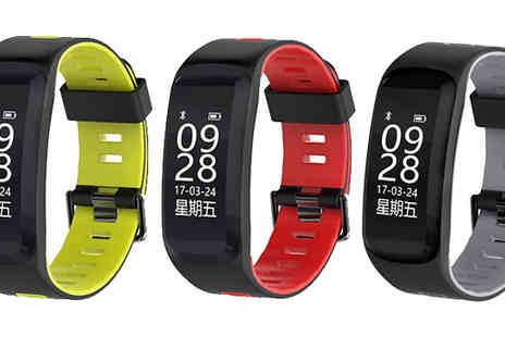 Black Sheep - 20 in 1 Activity Tracker Bracelet Available in 4 Colours - Save 71%
