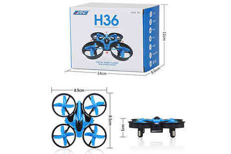 Black Sheep - H36 Mini Drone With Remote Control Choose 2 Colours - Save 71%