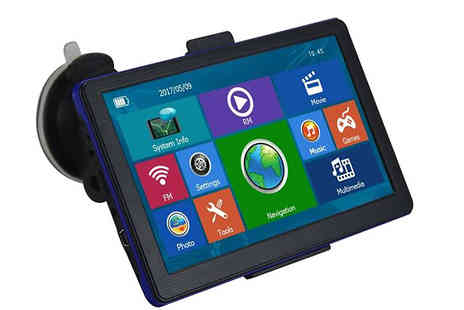 Black Sheep - 7 Inch 8GB Car GPS Navigation System - Save 60%