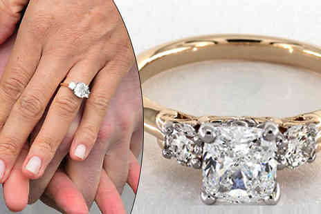 Your Ideal Gift - Royal Wedding Inspired Engagement Ring - Save 88%