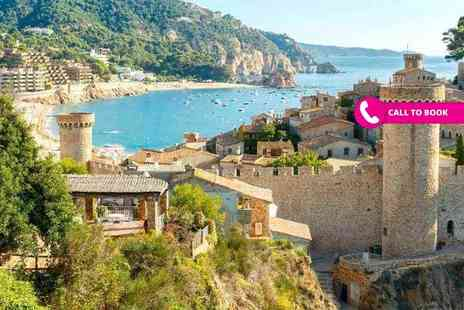Super Escapes Travel - Three, five or seven night all inclusive Costa Brava break with flights - Save 33%
