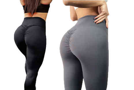 Treats on Trend - Scrunch bum style fitness leggings - Save 57%