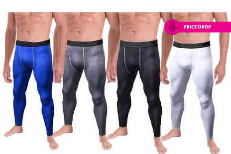 Boni Caro - Pair of mens compression pants choose from four colours - Save 88%