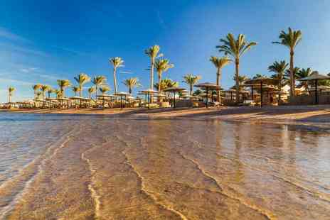 Super Escapes Travel - Seven night all inclusive Hurghada getaway in a 4 star resort with return flights - Save 37%