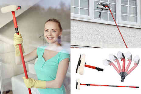 Direct 2 Publik - 3.5m Telescopic Window Cleaning Kit - Save 68%