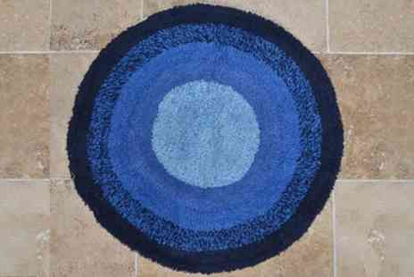 Groupon Goods Global GmbH - Round Graduated Bath Mat - Save 46%
