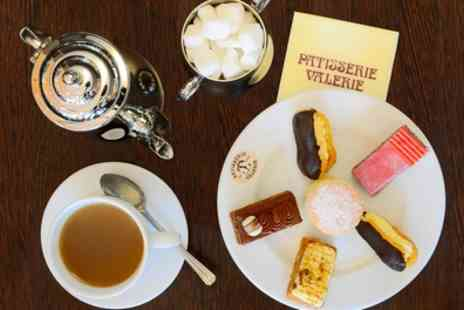 Patisserie Valerie - Traditional or Sparkling Afternoon Tea for Two - Save 24%
