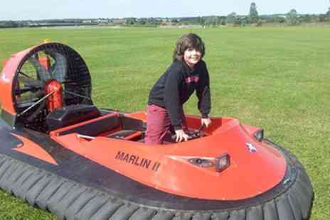 Experience Limits - Five, Ten or 15 Lap Hovercraft Experience - Save 0%