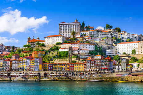 ClipHotel Gaia Porto - Three Star Douro Riverside Hotel Stay For Two with Cruise and Wine Tasting - Save 40%
