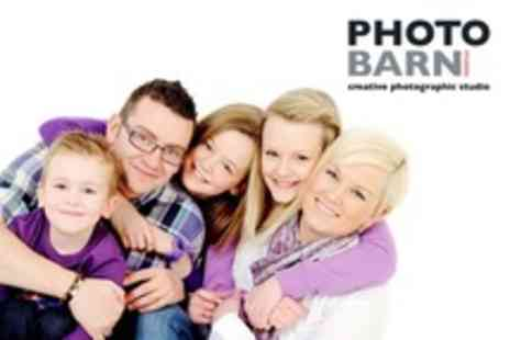 Photobarn Studios - Group Photo Shoot With Framed Prints - Save 92%