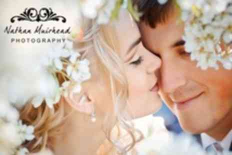 Photography by Nathan - Wedding Photography Package With 35 Print Album, 16x12 Canvas and 80 Images on Disc - Save 60%