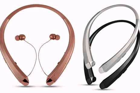 Groupon Goods Global GmbH - One or Two Aquarius Bluetooth Wireless Fitness Headsets - Save 0%