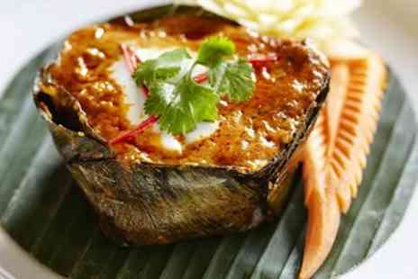 The Thai House Restaurant - Exquisite Thai sharing meal for 2 - Save 48%
