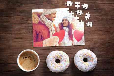 Photo Gifts - Personalised photo puzzle - Save 83%