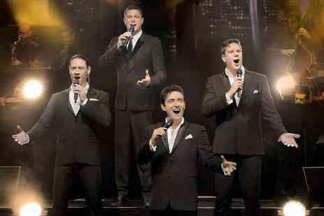 Cuffe and Taylor - Seated ticket to see Il Divo live in concert - Save 49%