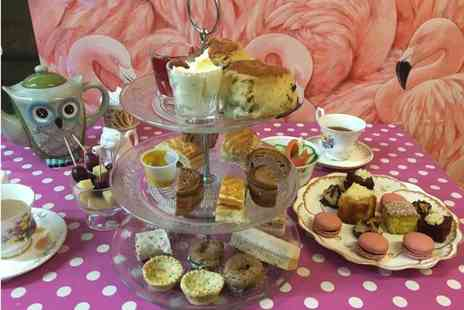 Mad as a Hatter - Savoury afternoon tea for two - Save 39%