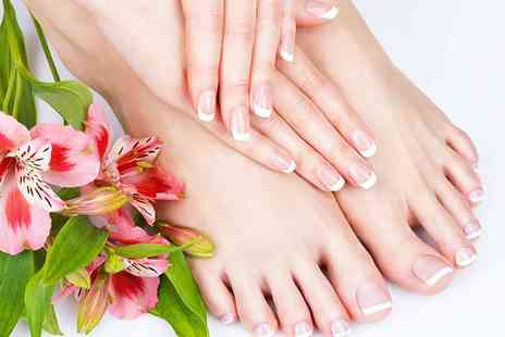 Bon Bons Beauty - Express shellac manicure or express shellac pedicure or both - Save 53%
