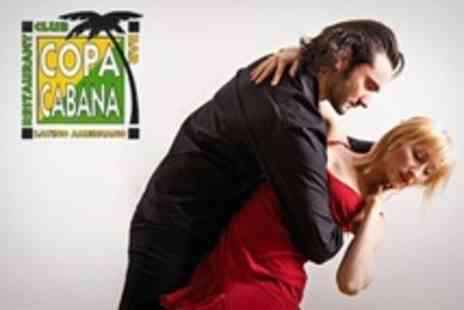 Copacabana - Ticket to Salsa Class, Live Performance and Band Night - Save 50%