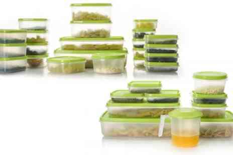 Groupon Goods Global GmbH - Up to 88 Piece Microwave Food Storage Container Set - Save 60%