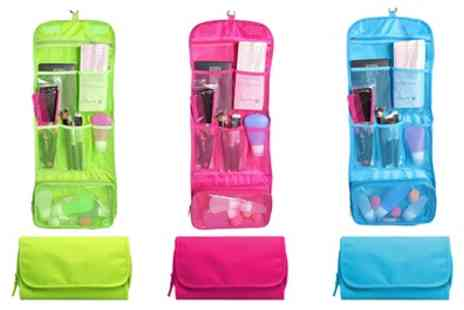 Groupon Goods Global GmbH - One, Two or Three Waterproof Hanging Wash Bags in Choice of Colour - Save 62%