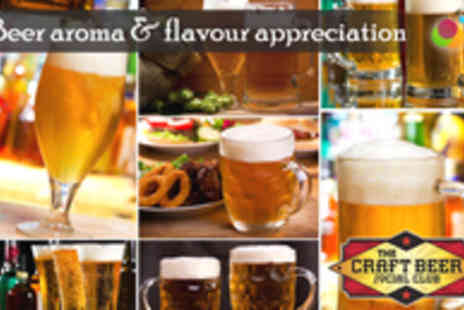 The Craft Beer Social Club - Beer Aroma & Flavour Appreciation for Two - Save 67%