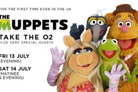 The Muppets take The O2 - Ticket to The Muppets Take The O2 on 13 or 14 July - Save 74%