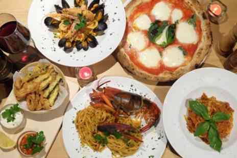 Lenas - Two Course Italian Meal with Wine or Three Course Italian Meal for Two or Four - Save 62%