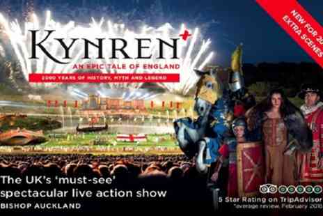 Kynren - Ticket to Kynren, An Epic Tale of England on  30 June to 31 August - Save 20%