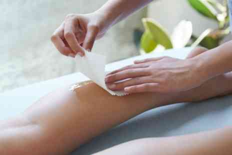 The Hub - Bikini or Brazilian Wax with Half or Full Leg and Underarm Wax - Save 62%