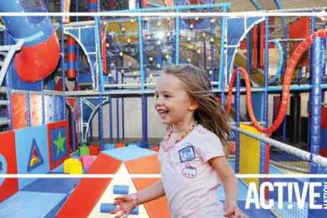 Birchwood Leisure Centre - Soft Play Entry with Soft Drink for Up to Four - Save 39%