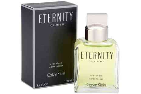 Groupon Goods Global GmbH - Calvin Klein Eternity 100ml Aftershave Splash - Save 0%