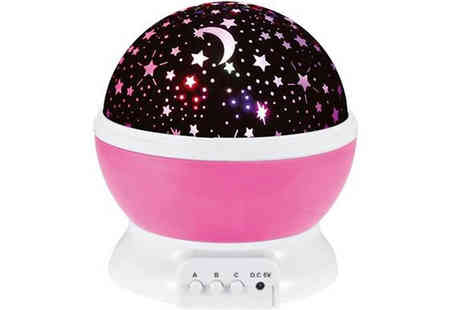Best mall ever - Nursery Night Light Star Projector plus Free Delivery - Save 78%