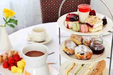The Grosvenor Hotel - Afternoon tea for 2 with chocolate fondue - Save 48%