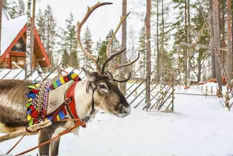 Bargain Late Holidays - Two, four, five or seven night Lapland stay with breakfast and flights - Save 28%