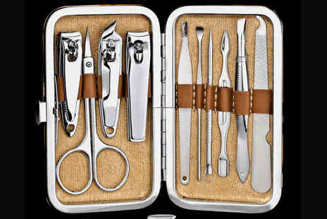 Forever Cosmetics - Ten piece skinapeel manicure set - Save 90%