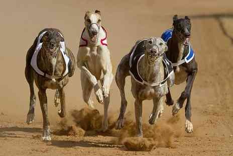 Poole Greyhound Stadium - Entry to the Greyhound Races for two with food and drink - Save 65%