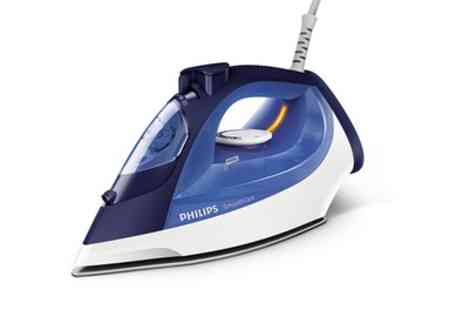 Groupon Goods Global GmbH - Philips Smooth Care Steam Iron With Free Delivery - Save 5%