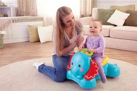 Groupon Goods Global GmbH - Fisher Price 3 In 1 Bounce, Stride and Ride On Walker Toy - Save 39%