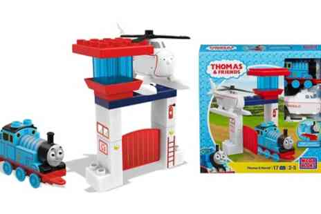 Groupon Goods Global GmbH - Mega Bloks Thomas and Friends Thomas and Harold Construction Set - Save 0%