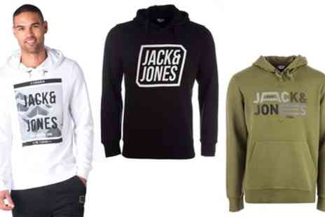 Groupon Goods Global GmbH - Jack & Jones Mens Hoodies and Sweatshirts - Save 0%