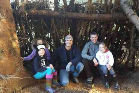 Primal Bushcraft and Survival - One Day Bushcraft Survival Experience for Children and Adults - Save 29%