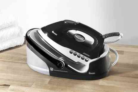 Groupon Goods Global GmbH - Swan 2400W Steam Generator Iron with Optional Cartridge With Free Delivery - Save 0%