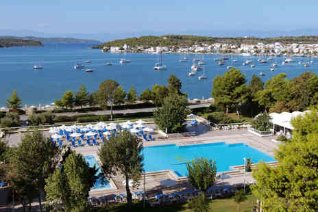 AKS Porto Heli - Four Star All Inclusive Stay with Sea Views & Private Beach Stay For Two - Save 38%