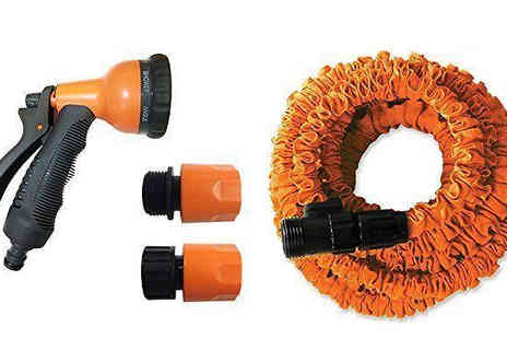 Dealberry - Extendable Garden Hose Available in 50, 75 or 100FT - Save 67%