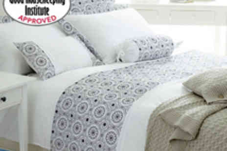 Good Housekeeping - Pimlico Single Duvet Cover  Oxford Pillowcase - Save 67%