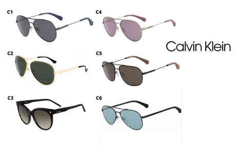 Brand Logic - Pair of Calvin Klein sunglasses - Save 68%