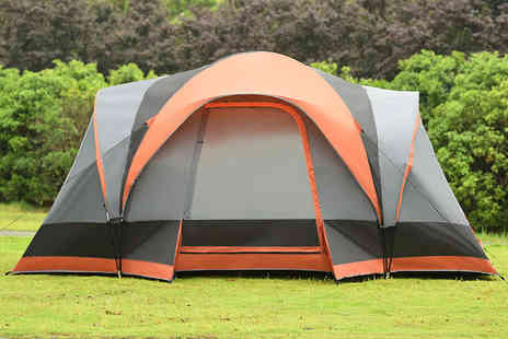 FDS Corporation - Waterproof 6 To 8 person dome tent - Save 62%