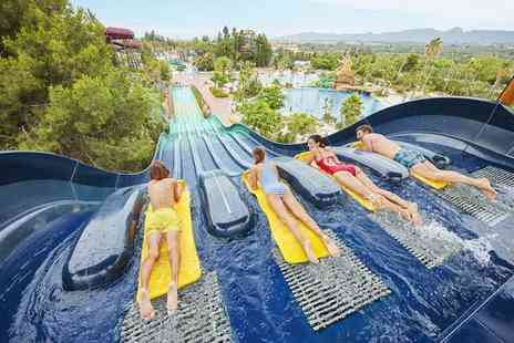 Weekender Breaks - Three or five night 4 Star half board PortAventura, Spain hotel stay with unlimited park entry, one time Ferrari World entry, flights and more - Save 55%
