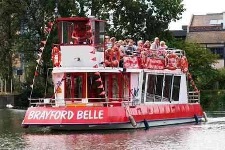 Brayford Belle - Boat trip along the waterways of Lincoln for two or family of four - Save 29%